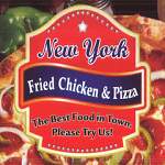 New York Fried Chicken & Pizza - Brighton Logo