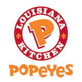 Popeyes (111 W William Cannon Dr) Logo