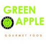 Green Apple Gourmet Food Logo