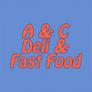 A & C Fast Food Logo