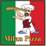 Milan Pizza Logo