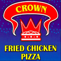 Crown Halal Chicken & Pizza Logo