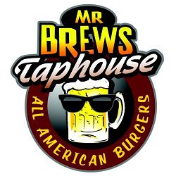 Mr. Brews Taphouse All American Burgers - Madison Logo