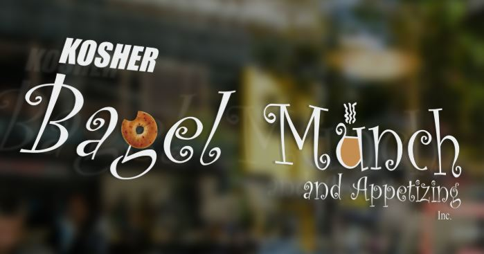 Kosher Bagel Munch Logo