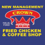 Crown Fried Chicken & Coffee Shop Logo