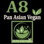 A8 Pan Asian Vegan Cuisine Logo