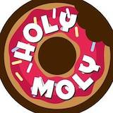 Holy Moly Donut Shop Logo