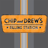 Chip And Drew's Filling Station Logo