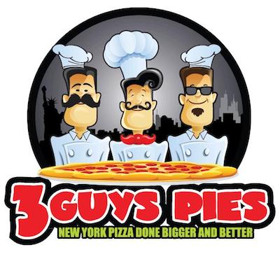 3 Guys Pies Logo