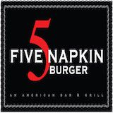 5 Napkin Burger - Hell's Kitchen Logo