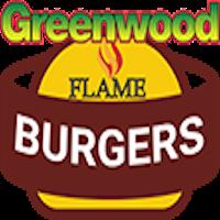 Greenwood Flame Burger Logo