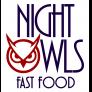 Night Owls Fast Food Logo