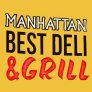 Manhattan Best Deli & Grill Logo
