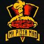 Mr. Pizza Man Logo
