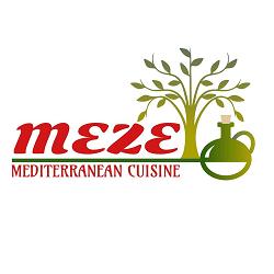 Meze Mediterranean Cuisine Logo