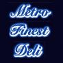 Metro Finest Deli Logo