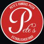 Pete's Famous Pizza - Fairmount Ave Logo