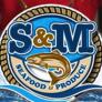 S&M Seafood Logo