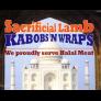 Sacrificial Lamb Kabobs N Wraps Logo