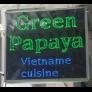 Green Papaya Vietnamese Logo