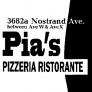 Pias Pizzeria (3682a Nostrand Ave) Logo