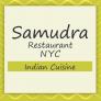 Samudra NYC Restaurant: Vegetarian & Non-Vegetarian Logo