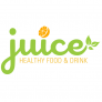 Juice Healthy Food & Drink Logo