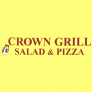 Crown Grill Salad & Pizza Logo