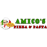 Amico's Exotic Pizza Logo