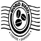 World Blend Coffee & Shipping Logo