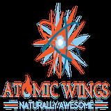 Atomic Wings - East Village Logo