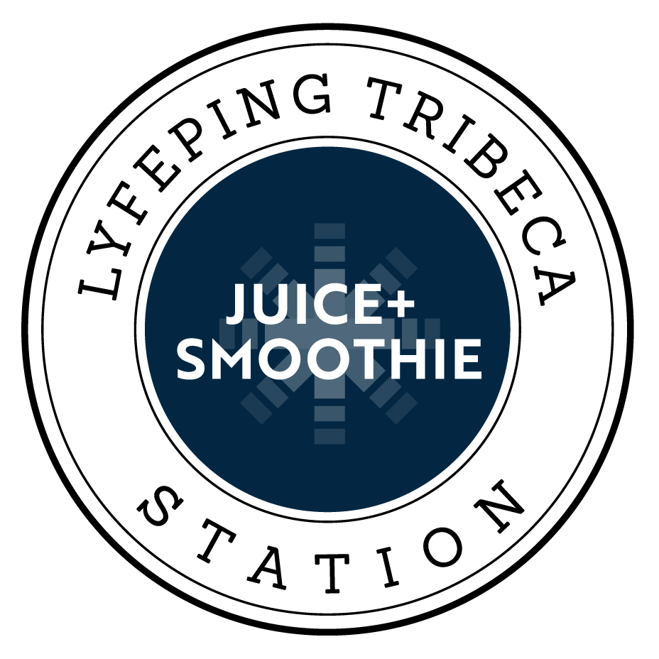 Lyfeping Tribeca Juice and Smoothie Station Logo