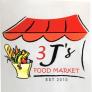 3 J's Food Market Logo
