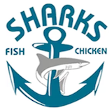 Sharks Fish & Chicken (D.C.) Logo