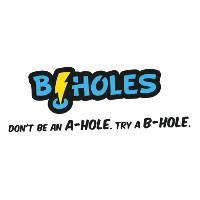 B-Holes Bakery Logo