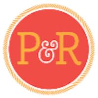 P&R Restaurant And Ice Cream Parlor Logo