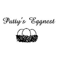 Patty's Eggnest Logo