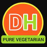 Dosa House Pure Vegetarian Indian Food Logo