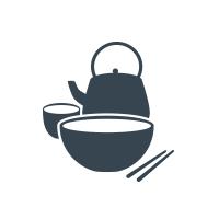 Teapot Vegetarian House Logo