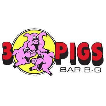 3 Pigs Bar-BQ Logo