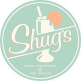 Shug's Soda Fountain + Ice Cream Logo