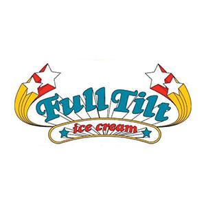 Full Tilt Ice Cream (White Center) Logo