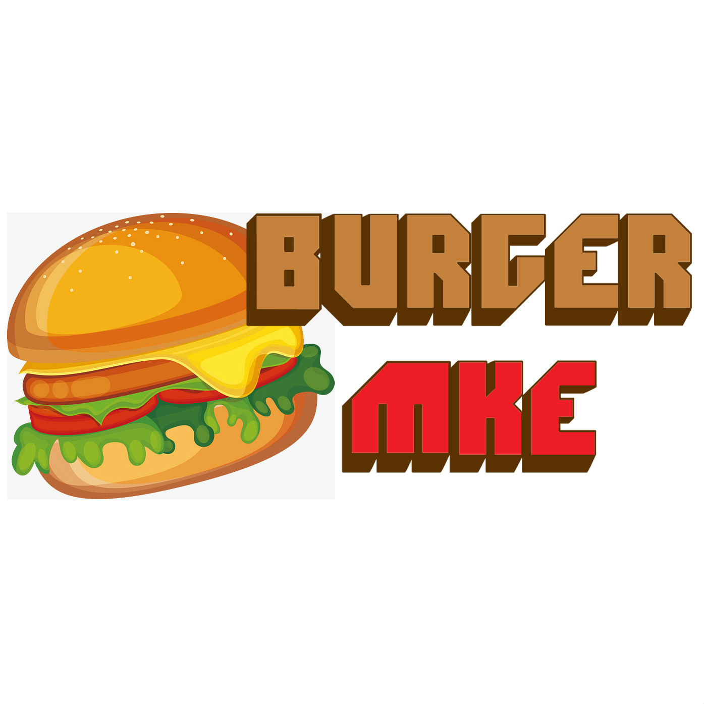 Wisco Burger (Milwaukee/1st St & Bruce) Logo
