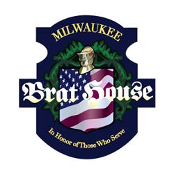 Milwaukee Brat House - Old World 3rd St Logo
