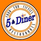 5 & Diner (16th St & Colter) Logo