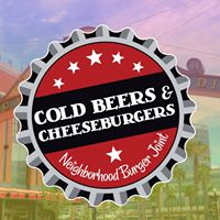Cold Beers & Cheeseburgers (7th Street) Logo