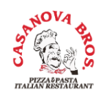 Casanova Brothers Pizza Logo