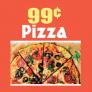 99 Cents Village Pizza Logo
