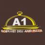 A1 deli and pizza Logo