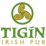 Tigín Irish Pub Logo